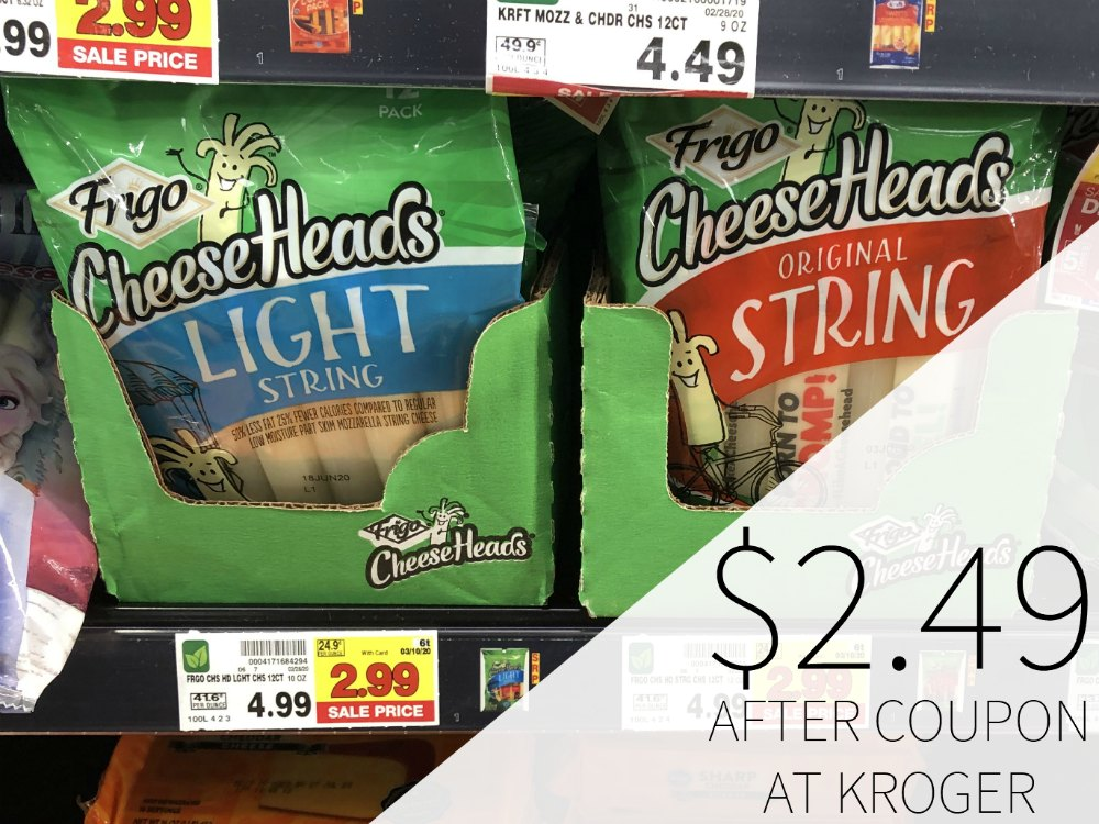 Frigo Cheese Heads Just $2.49 At Kroger