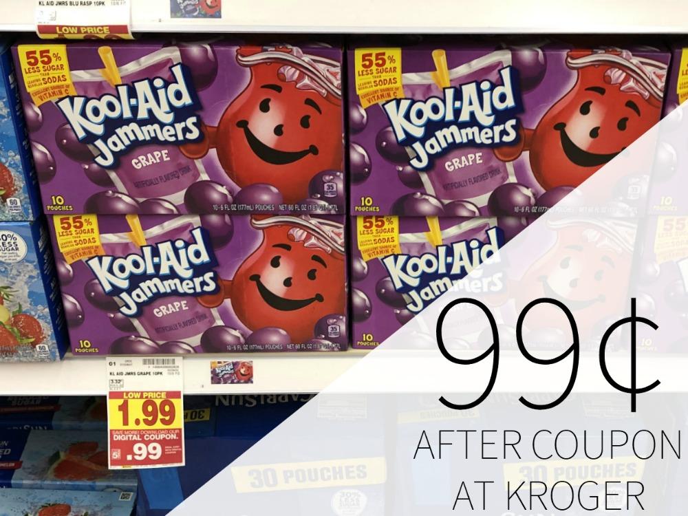 Kool Aid Jammers Just 99¢ At Kroger