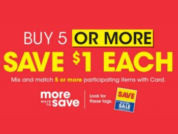 Kroger What A Deal! Buy 5 Or More, Save $1 Each Mega Sale Full Inclusion List (Valid 3/18 to 3/31)