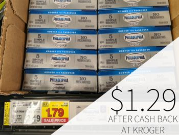 Philadelphia Cream Cheese Just $1.29 At Kroger 1