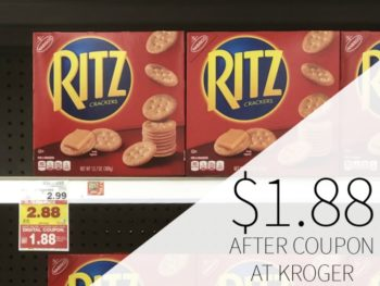 Nabisco Ritz Crackers Just $1.88 At Kroger