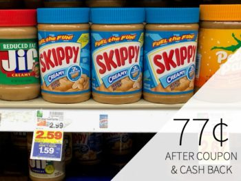 Skippy Peanut Butter Only 22¢ At Kroger 1