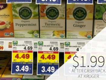 Traditional Medicinals Tea Just $1.99 At Kroger