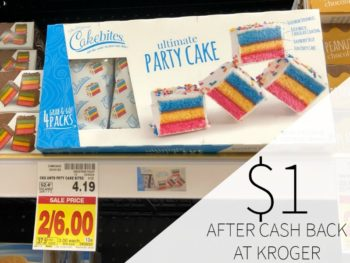 The Original Cakebites Just $1 At Kroger