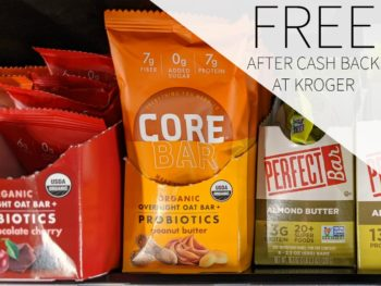 Core Foods Overnight Oat Bar FREE At Kroger