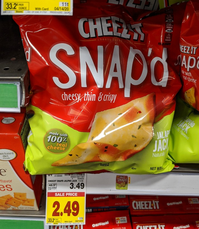 Cheez-It Snap'd Just $ At Kroger 1