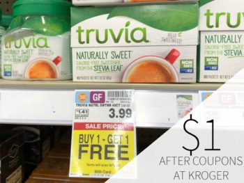 Truvia Only $1 Per Box At Kroger