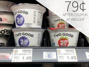 Two Good Greek Yogurt Just 79¢ At Kroger 1