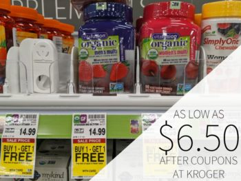 Vitafusion Supplements As Low As $6.50 Per Container At Kroger