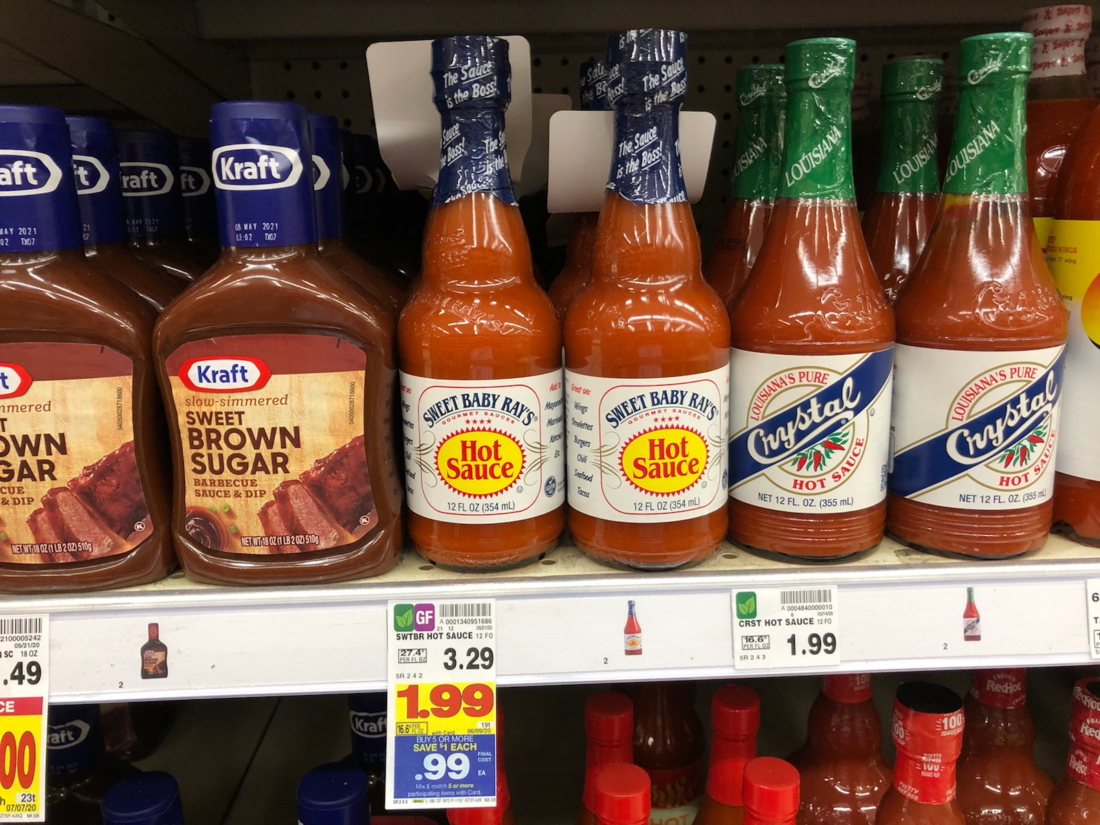 Sweet Baby Ray's Wing Or Hot Sauce As Low As FREE At Kroger 1