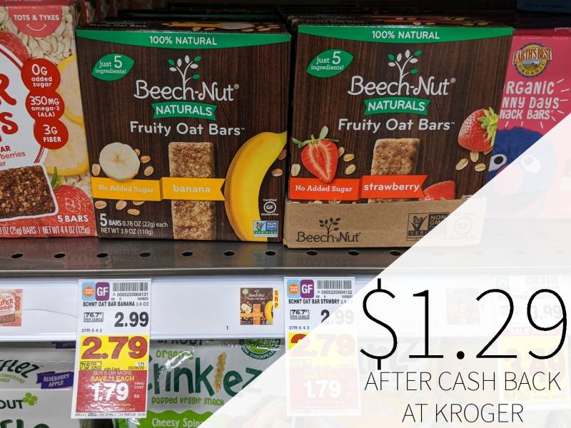 Beech Nut Snacks Just $1.29 At Kroger