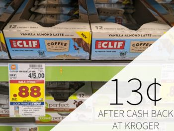 Clif Coffee Collection Bar Just 13¢ At Kroger