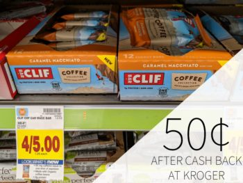 Cliff Coffee Collection Bar Just 50¢ At Kroger