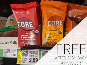 CORE Foods Overnight Oat Bars FREE At Kroger 1
