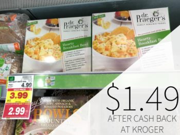 Dr. Praeger's Bowls Just $1.49 At Kroger