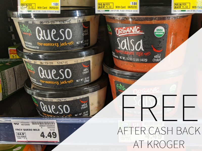 Fresh Cravings Salsa And Queso FREE At Kroger