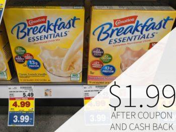 Carnation Breakfast Essentials Drink Mix Just $2.99 At Kroger 1