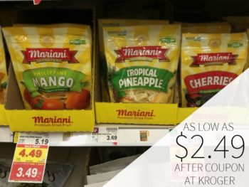 Mariani Dried Fruit As Low As $2.49 At Kroger