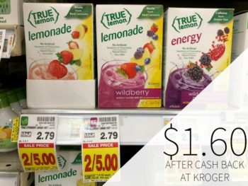 True Lemon Drink Mix Just $1.60 At Kroger