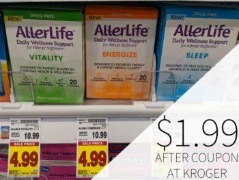 AllerLife Supplements just $1.99 At Kroger