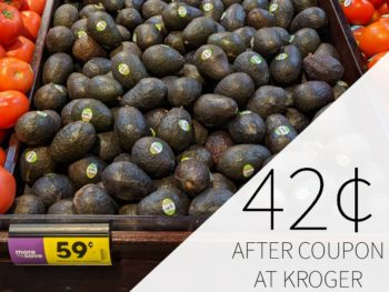 Avocados As Low As 42¢ Each At Kroger