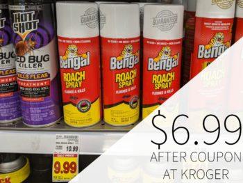 Bengal Roach Spray Just $6.99 At Kroger