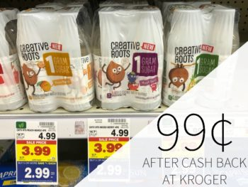 Creative Roots Coconut Water Beverage As Low As 99¢ At Kroger