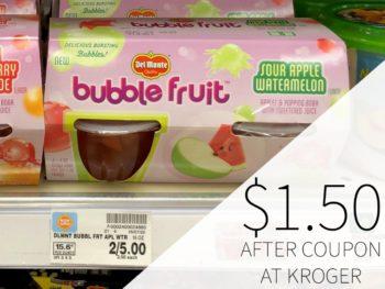 Del Monte Bubble Fruit