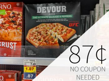 Devour Pizza As Low As 87¢ At Kroger - No Coupon Needed