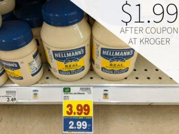 Hellmann's Mayo Just $1.99 At Kroger