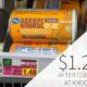 Kroger Orange Juice Frozen Concentrate Just $1.24