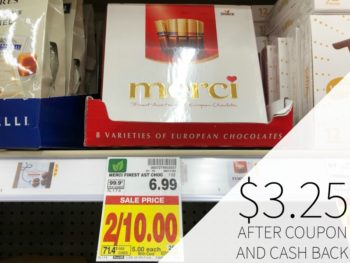 Merci Chocolate As Low As $3.25 At Kroger