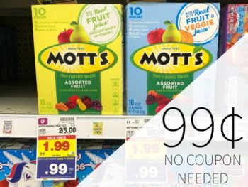 Mott's Or Betty Crocker Fruit Snacks Just 99¢ At Kroger - No Coupon Needed
