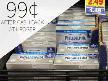 Philadelphia Cream Cheese Just 99¢ At Kroger 1