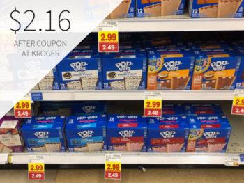 Kellogg's Pop-Tarts Just $2.16 At Kroger 1
