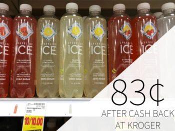 Sparkling Ice Just 83¢ Per Bottle At Kroger