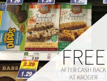 Sunbelt Bakery Granola Bars FREE At Kroger