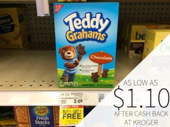 Teddy Grahams As Low AS $1.10 Per Box At Kroger