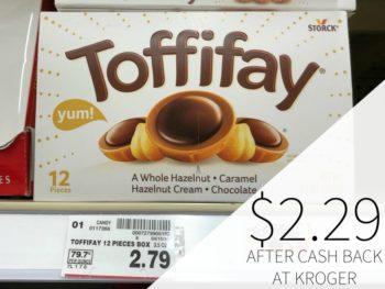 Toffifay Just $2.29 Per Box At Kroger