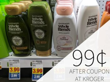 Garnier Whole Blends Just 99¢ At Kroger 1
