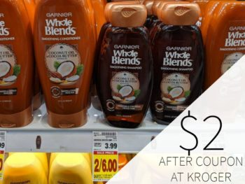 Garnier Whole Blends As Low As $2 At Kroger