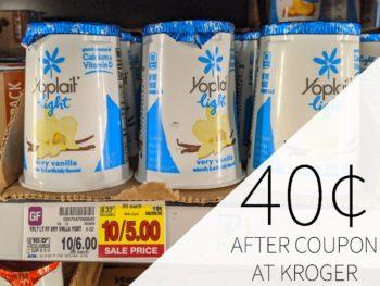 Yoplait Yogurt Just 40¢ Per Cup At Kroger
