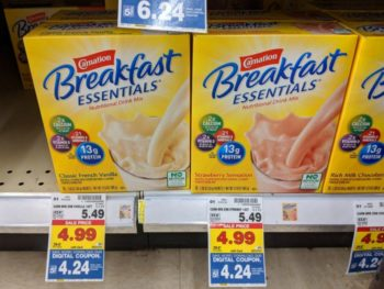 Save On Your Favorite Carnation Breakfast Essentials® Products At Kroger - New Digital Coupon! 2