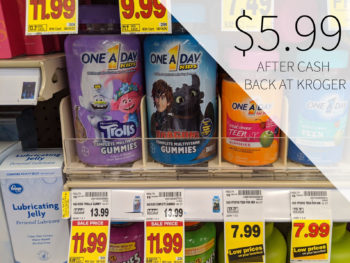One A Day Kids Multivitamins Just $5.99 At Kroger 2