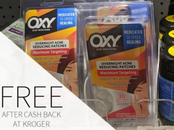 OXY Overnight Acne Reducing Patches FREE At Kroger