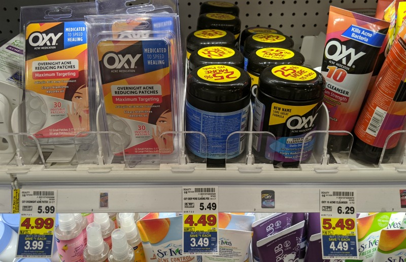 OXY Acne Deals At Kroger - Overnight Acne Reducing Patches FREE