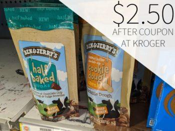 Ben & Jerry's Ice Cream Just $3 At Kroger