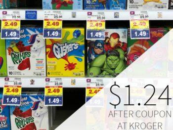 Betty Crocker Fruit Snacks Just $1.24 Per Box At Kroger