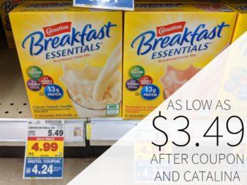 Carnation Breakfast Essentials As Low As