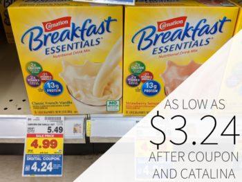 Carnation Breakfast Essentials As Low As $3.24 At Kroger